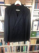Herren Anzug - Hugo Boss - Zweireiher - blau gestreift - Gr. S - top Zustand