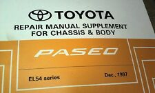 1997 TOYOTA PASEO EL54 Factory Workshop Manual RARE