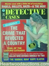 """Detective Cases"" June 1989 Bad Girl Cover"