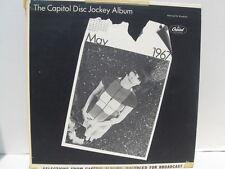 The Capitol Disc Jockey Album May 1967 promo NM vinyl lp