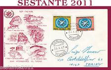 ITALIA FDC FILAGRANO ANNO INTERNAZIONALE DEL TURISMO 1967 ANNULLO TORINO G83