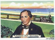 """WHITING INDIANA """"Life of Whiting""""  Card #7 Pop Whiting"""
