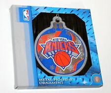 New York Knicks NBA Basketball Team Christmas Tree Holiday Ornament New Box