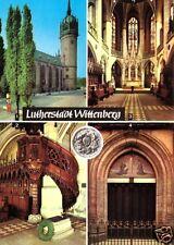AK, Lutherstadt Wittenberg, vier Abb., 1985