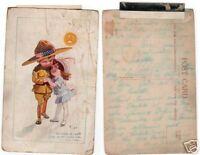 ANTIQUE POSTCARD EARLY 1900S WWI 1 PARIS FRANCE