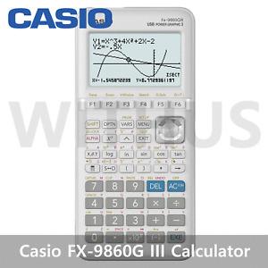 Casio FX-9860G III Advanced Graphing Scientific Calculator