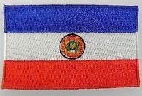 Paraguay Aufnäher gestickt,Flagge Fahne,Patch,Aufbügler,6,5cm,neu