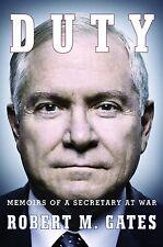 SIGNED Duty : Memoirs of a Secretary at War by Robert M. Gates