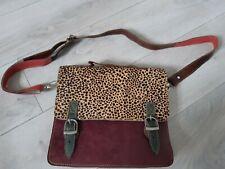 Bolsa Bolso de Cuero Soporte Ipad Estampado Animal hecho a mano y varios colores