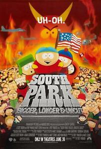 SOUTH PARK MOVIE POSTER FILM A4 A3 ART PRINT CINEMA
