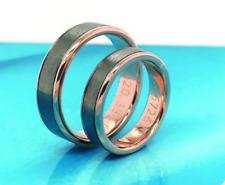 Twotone Wedding Rings 14K (MTO) sep