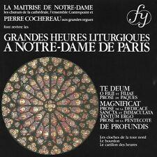 Grande Heures Liturgiques A Notre-Dame De Paris : CD LIKE NEW NEVER PLAYED
