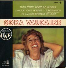 CORA VAUCAIRE LE TOURBILLON FRENCH ORIG EP FRANCOIS RAUBER