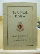 The Annual Review - King George V. (Magee) High School 1923-24 Yearbook