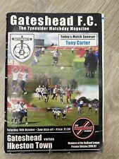 Gateshead v Ilkeston Town (2006/07) - Northern Premier (Unibond) League