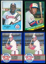 1984 1988 James Sap Randall Cards - Mobile AL, Grambling State University, AE14