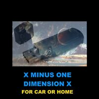 X MINUS ONE & DIMENSION X. 168 OLD TIME RADIO SCI-FI SHOWS FOR YOUR HOME OR CAR