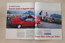 Nissan 100 NX GTI - Anzeige/Werbung