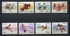 35741) POLAND 1967 MNH** Olympic Games, Mexico City 8v