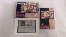 The Lost Vikings Boxed & Manual Super Nintendo SNES Game PAL RARE RETRO TESTED