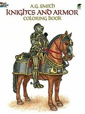 Knights and Armor Coloring Book (Dover Fashion Col
