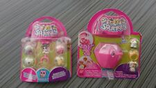 2 Blisters SQUINKIES Bandai Chat & Princesse Bracelet/Bague interchangeables LPS