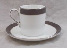 Wedgwood - Vera Wang - Sable Duchesse - coffee cup / can and saucer UNUSED