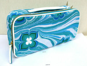 Estee Lauder Blue & White Travel Bag/Case New