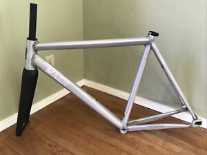 2021 MASH SF ALLEYCAT AC-2 TRACK BIKE FIXED GEAR FRAME SET LARGE 56CM RAW
