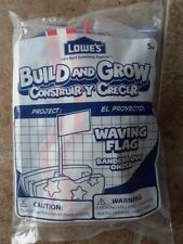 New Lowes Build And Grow Kit Waving Flag Free Shipping