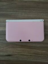 Nintendo 3DS XL System (White & Pink) TESTED AND WORKING