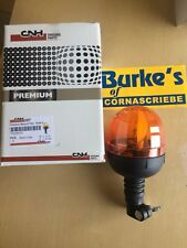 GENUINE CNH ORANGE ROTATING POLE MOUNTED BEACON TO SUIT ALL MACHINES 73328579