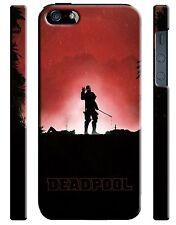 Iphone 4 4s 5 5s 5c 6 6S + Plus Hard Cover Case Deadpool Hero Comics Kids 5