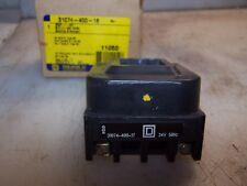 NEW SQUARE D 24 VAC MOTOR STARTER COIL  50 Hz  31074-400-17