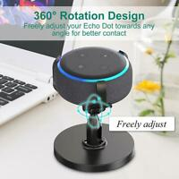 360°Adjustable Stand Wall Mount Hanger Holder For Amazon Echo Dot3rd Generation