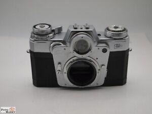 Zeiss Ikon Contarex SLR Kamera body mit Wechselmagazin