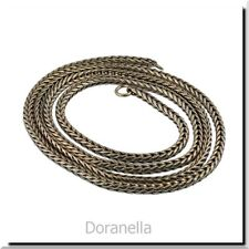 Trollbeads Original Foxtail 13260 Necklace Silver 23.6 (22.6 actual) inch :0