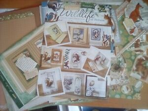 Hunkydory Winter Wild!ife card making collection