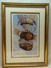 FLYING HOUSE OF A WINE MAKER BY ANDREY VERESHAGH, SERIO-LITHO-SIGNED