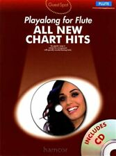 All New Chart Hits Playalong for Flute Music Book/CD Set Katy Perry Plan B Adele