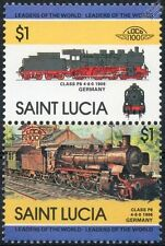 Germany Train & Rail Postal Stamps