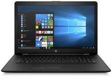 HP 17.3 Inch HD AMD A6 2.5GHz 4GB 1TB Windows Laptop - Black