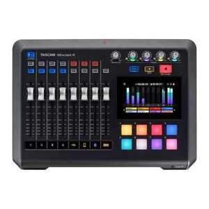 Tascam Mixcast 4 Podcast Station w/ Built-In Recorder / USB Audio Interface