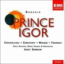 Prince Igor by Alexander Borodin, Jerzy Semkow, Sofia National Opera Orchestra,