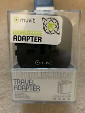 muvit-Universal Worldwide Adapter (US, UK, EU/AUS
