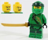LEGO NINJAGO 70670 LEGACY LLOYD MINIFIGURE GREEN NINJA TEMPLE - NEW GENUINE