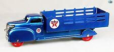 Original Fully Restored Vintage 1940s Texaco Stake Truck Toy