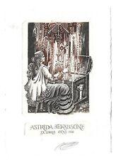 ELITA VILIAMA: Exlibris für Astrida Jekabsone