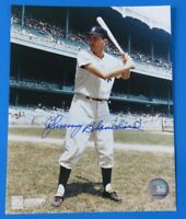 JOHNNY BLANCHARD SIGNED 8x10 PHOTO ~ NY YANKEES BASEBALL ~ 100% GUARANTEE