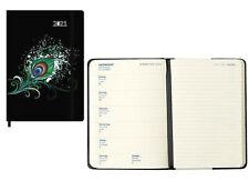 Kalender Agenda Taschenkalender Timer A5 2021 FSC Mix  10883 BZ Pfauenfeder
